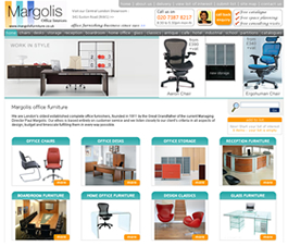 Office Furniture WebsitesWebsite Design by Flame New Media